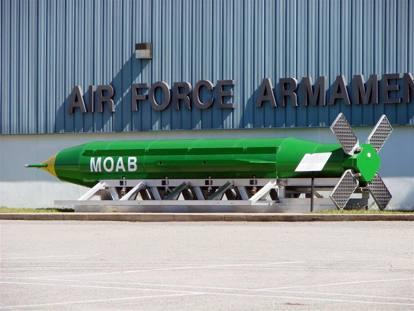 Usa: sganciata in Afghanistan la Moab, «madre di tutte le bombe»