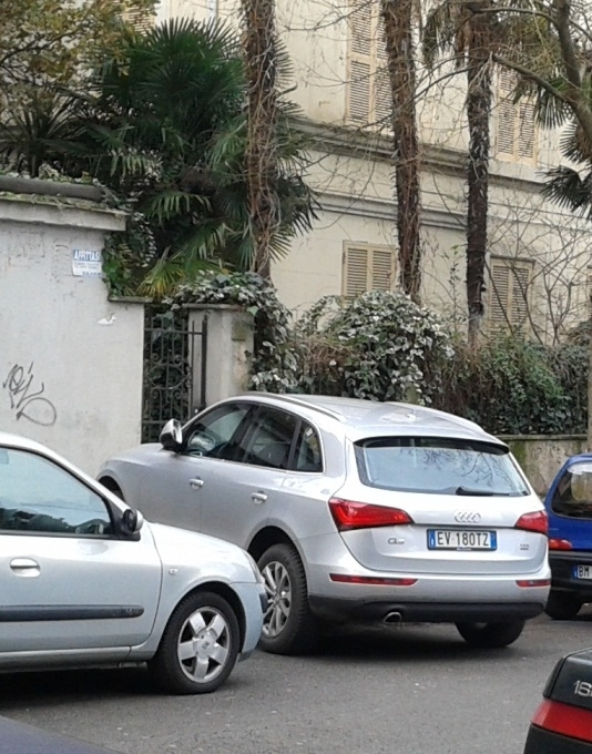 Via salvini l audi q5 in uso a sandro pacella for Cercasi ufficio roma