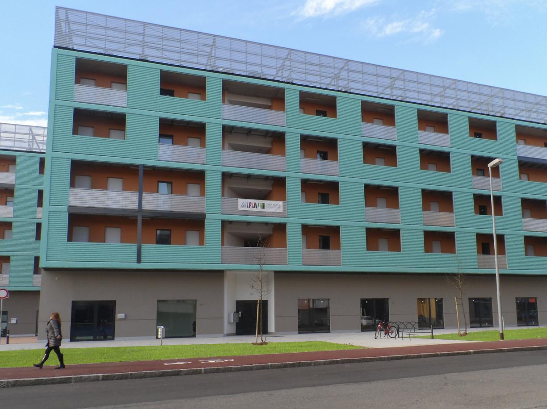 Un cantiere di housing sociale