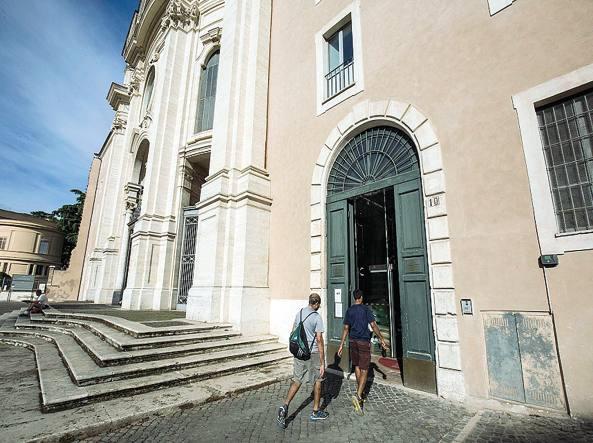 Una delle strutture, in zona San Giovanni, nel dossier del Campidoglio (Jpeg)