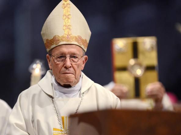 Il cardinale Walter Kasper, presidente emerito del Pontificio consiglio per  la promozione dell'unit� dei cristiani (Ap)