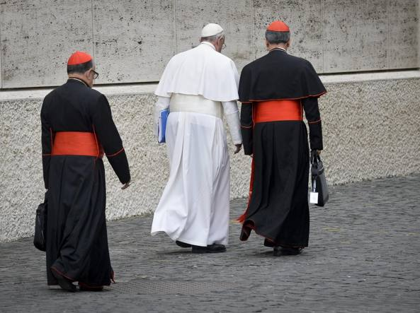 Il Papa lascia il Sinodo a fine lavori (Imagoeconomica)