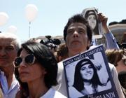 Pietro Orlandi in una manifestazione per chiedere verità su sua sorella Emanuela