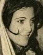 Sabrina Minardi, ex amante di De Pedis, in una foto di molti anni fa
