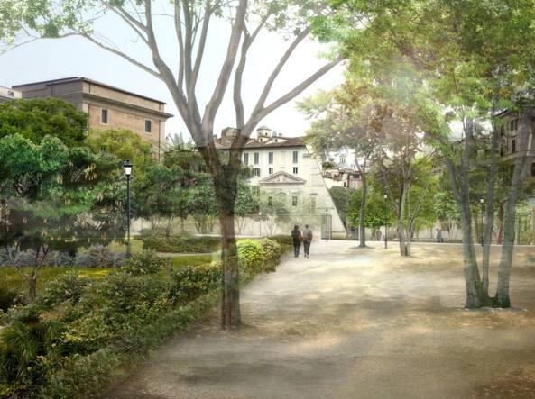 Quel giardino segreto di via giulia for O giardino di pulcinella roma
