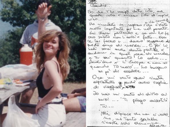 Alessia Rosati, scomparsa a 21 anni, e la sua lettera a un'amica