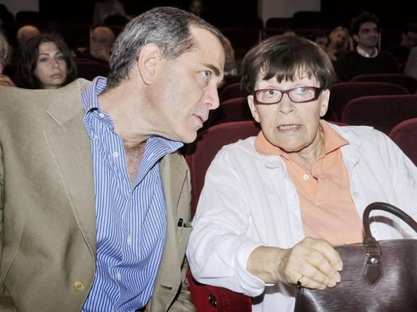 Urbano Barberini con  Franca Valeri (Vitaliano Napolitano)