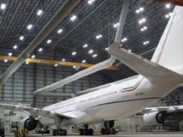 L'Airbus che sarà usato per i voli di Stato (www.aviazione civile.it)