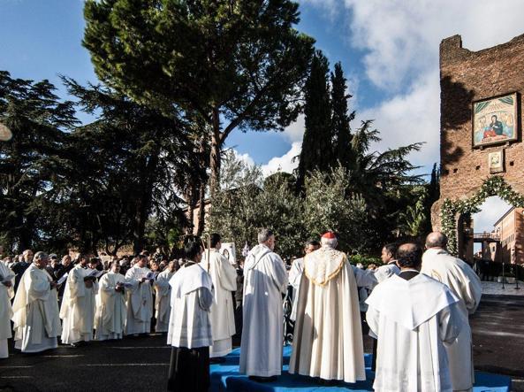 L'apertura della Porta Santa al Divino Amore (Jpeg)