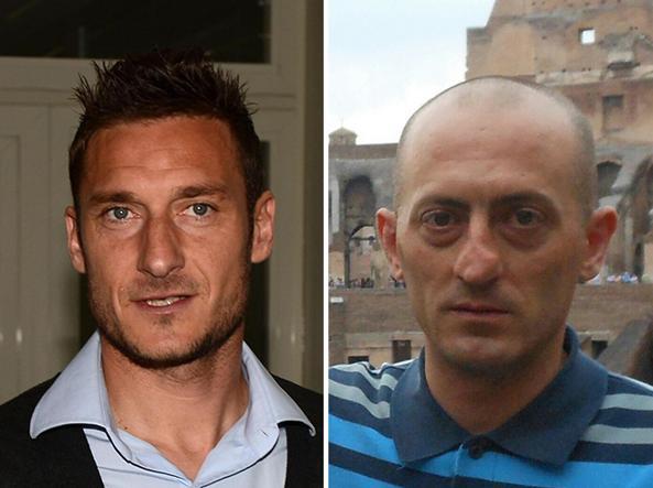 Francesco Totti, autore dell'appello su Daniele Potenzoni, scomparso il 10 giugno 2015 a Roma