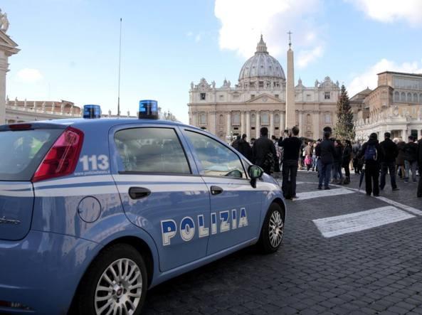 Controlli in piazza San Pietro (Omniroma)