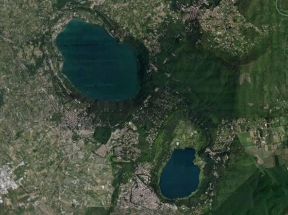 I laghi di  Albano e  di Nemi