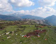 La zona di Norma è molto nota per il volo libero nel Lazio e non solo