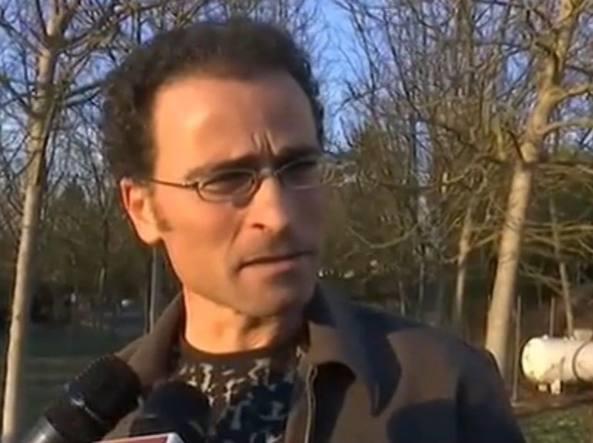 Luca Campanile, il pizzaiolo che suo malgrado lunedì sera ha provocato l'evacuazione della stazione Termini, a Roma, a a causa di un fucile giocattolo
