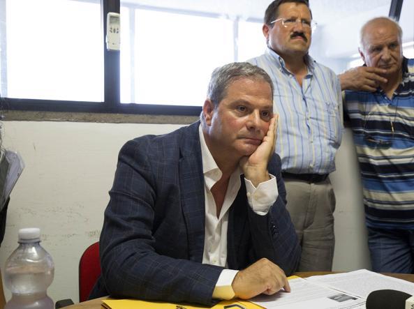 Il presidente del VI Municipio Le Torri Marco Scipioni (foto Jpeg)