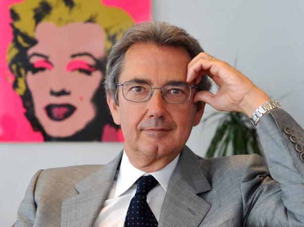 Franco Bernab�, presidente della Quadriennale di Roma