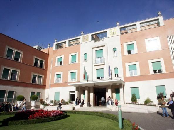 L'ospedale Villa San Pietro (Ansa)