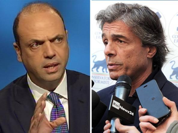 Angelino Alfano e Alfio Marchini