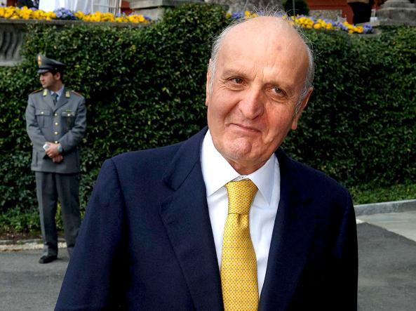 Domenico Bonifaci, immobiliarista ed editore del quotidiano Il Tempo (Imagoeconomica)