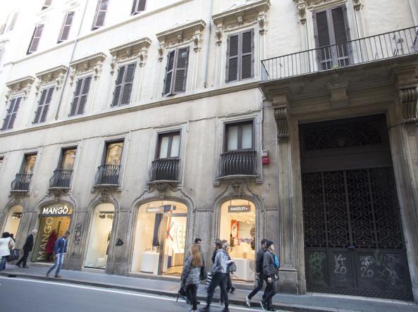 Palazzo Raggi in via del Corso (foto Jpeg)