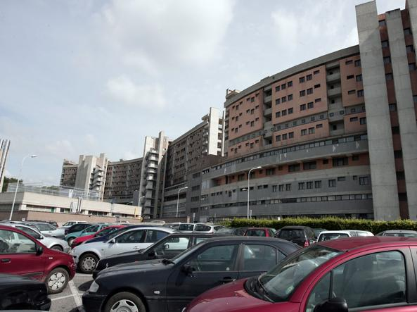 L'ospedale Belcolle di Viterbo dove sar� effettuata l'autopsia (foto Jpeg)