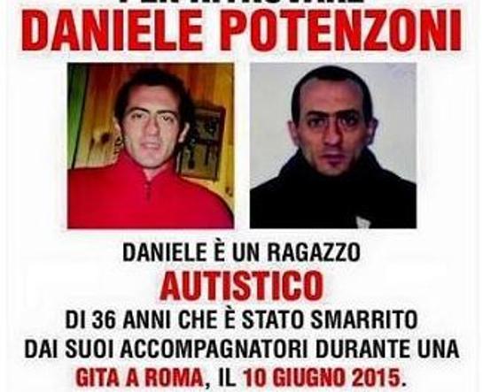 Il nuovo manifesto con l'atto d'accusa agli accompagnatori di Daniele Potenzoni