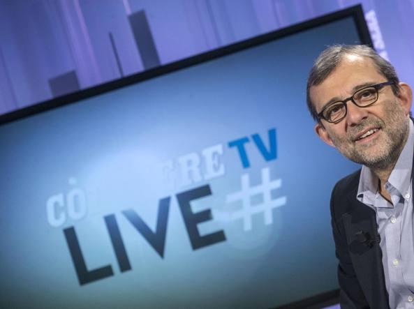 Roberto Giachetti ospite di CorriereLive (Jpeg fotoservizi)