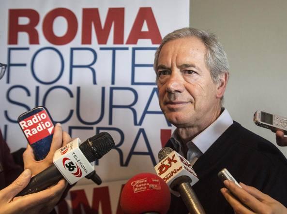 Guido Bertolaso alla presentazione delle gazebarie (Jpeg)