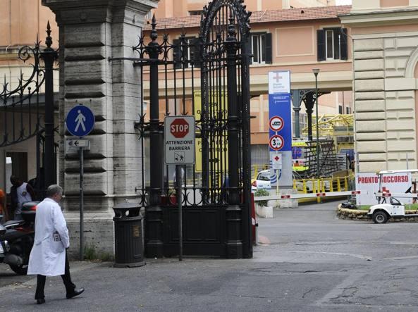 Il policlinico Umberto I (Ansa)