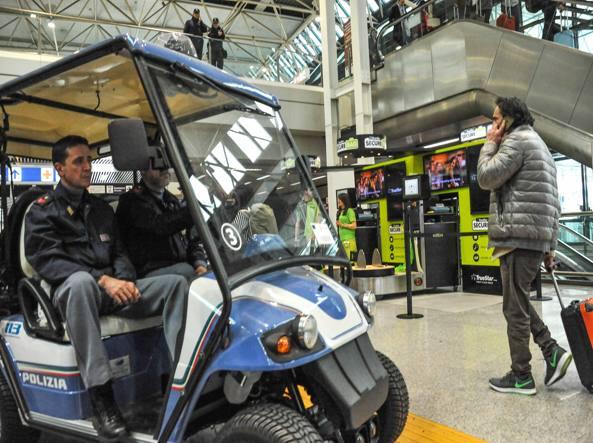 L'aeroporto  di Fiumicino  dopo gli attentati a Bruxelles (Proto)