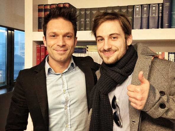 Luca Menti e Matteo Cracco (Aquaro)