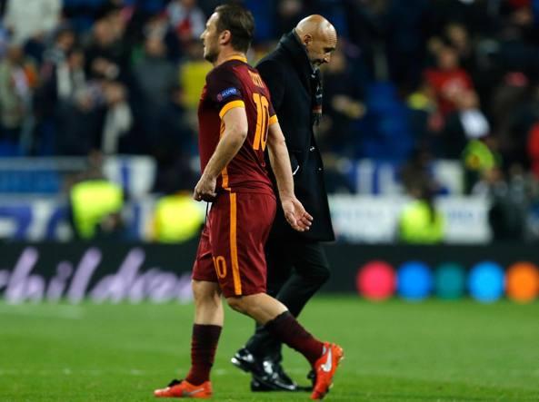 Lite Spalletti-Totti: ecco la frase che ha scatenato l'inferno nello spogliatoio