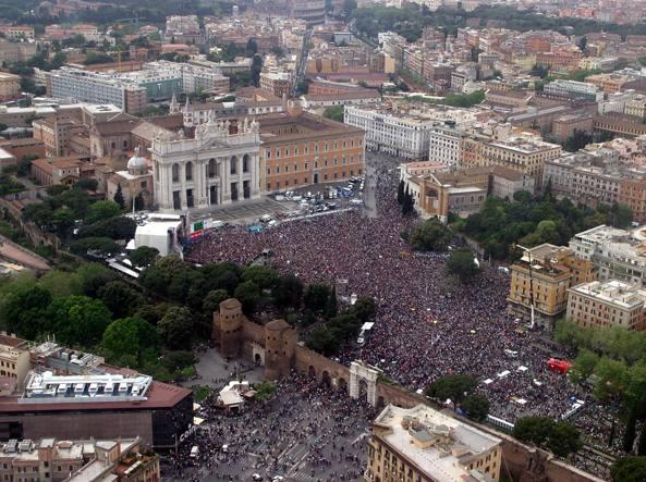 Una Roma blindata si prepara al Concertone del Primo Maggio
