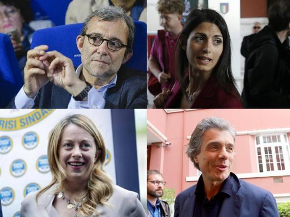 Elezioni Comunali Roma, sorteggio ordine dei candidati sulla scheda: prima Virginia Raggi