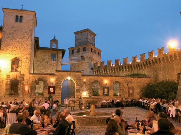 Notte Romantica a Monte Castello Vibio