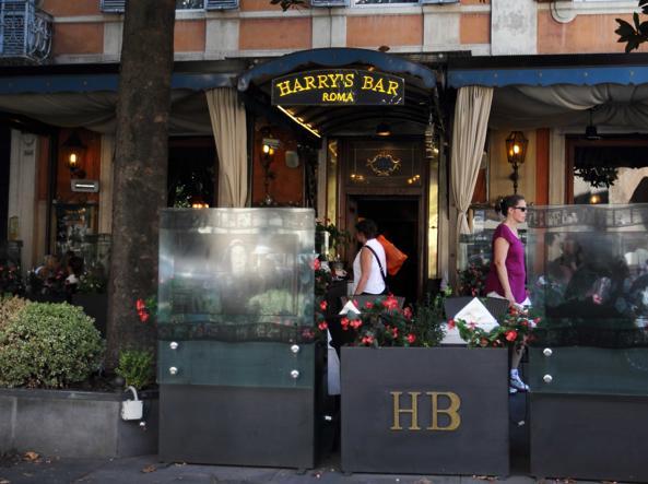 L'Harry's Bar di via Veneto (foto Proto)