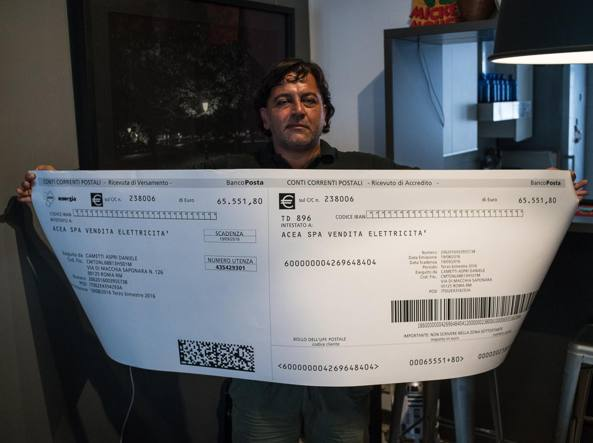 Roma, riceve maxi conguaglio da 65mila euro. Acea: