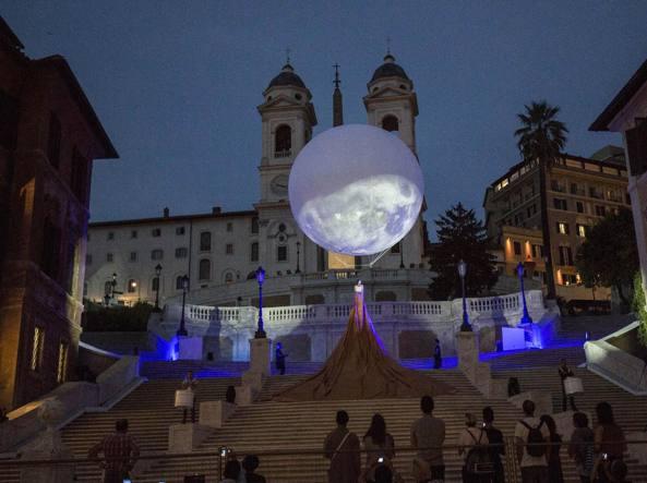 Raggi, la scalinata di Trinità dei Monti restituita a Roma