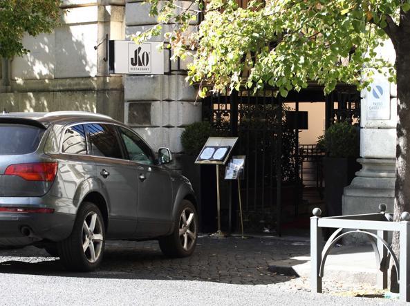 L'ingresso del Jackie O' in via Boncompagni (foto Proto)