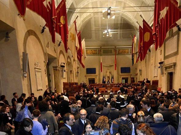 Mafia Roma: lavori Aula, processo per 20