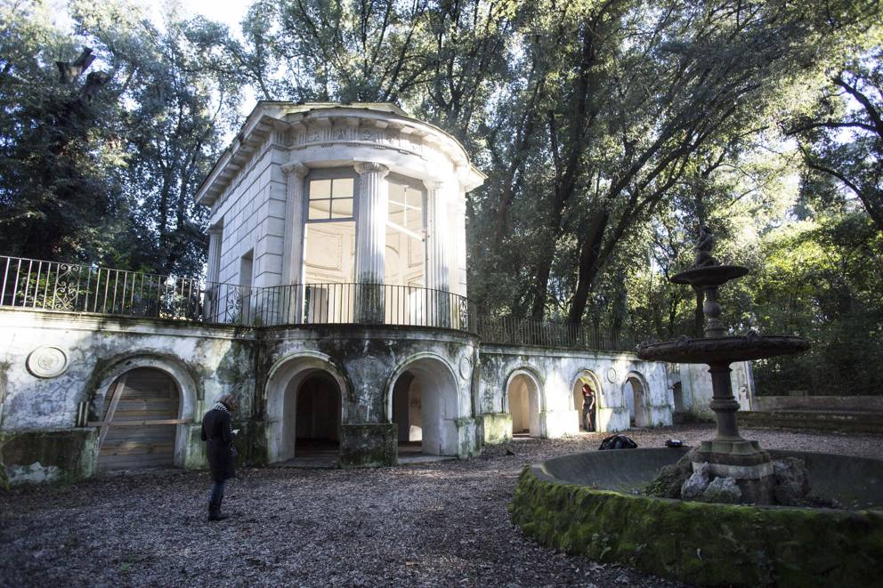 Villa Ada Roma Lampioni