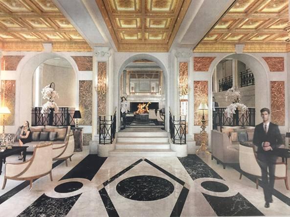 Roma l hotel eden cambia look un extralusso aperto alla - Hotel eden en roma ...