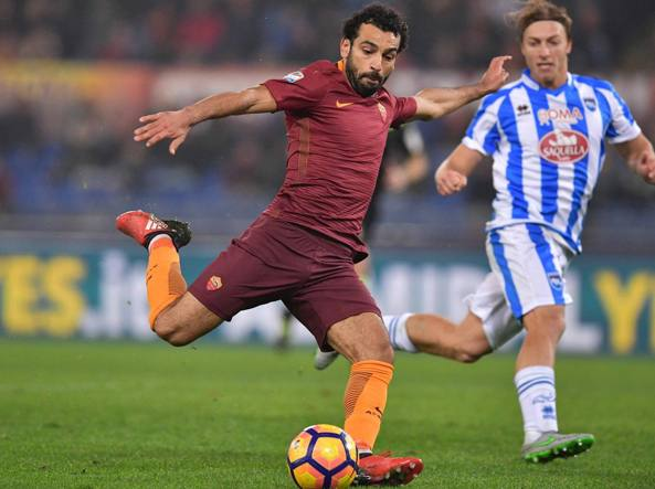 Roma, Mohamed Salah caviglia ko: derby a rischio