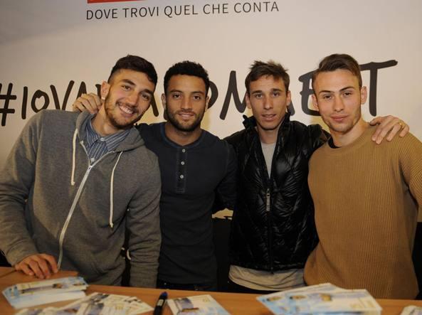 Da sinistra Cataldi, Felipe Anderson, Biglia e Lombardi (Getty Images)