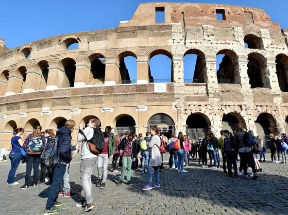 Il Colosseo diventa