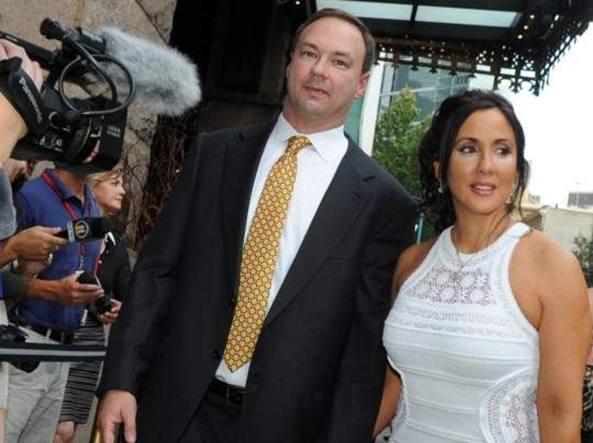 Alba Tull con il marito Thomas (foto da TribLIVE.com)