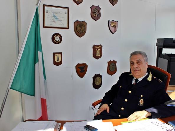 Il comandante dei vigili urbani di Fonte Nuova Carlo Rinaudo