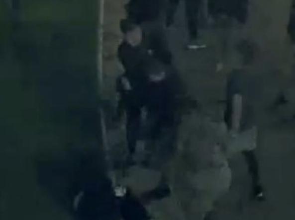 Rissa e accoltellamento a piazza Vittorio, arrestati sette ragazzi