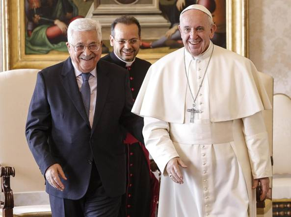 Abu Mazen dal Papa: Su riconoscimento Palestina altri Paesi seguano Vaticano