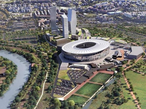 Stadio della Roma, il Comune invia alla Regione parere non favorevole